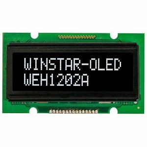 Winstar 12x2 OLED, WEH001202A OLED 12x2