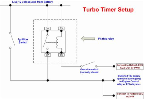 e6x turbo timer feature rx7club com mazda rx7 forum turbo timer wiring diagram