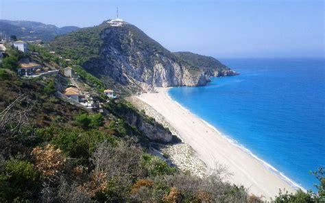 Mylos Beach Lefkada Greece World Beach Guide