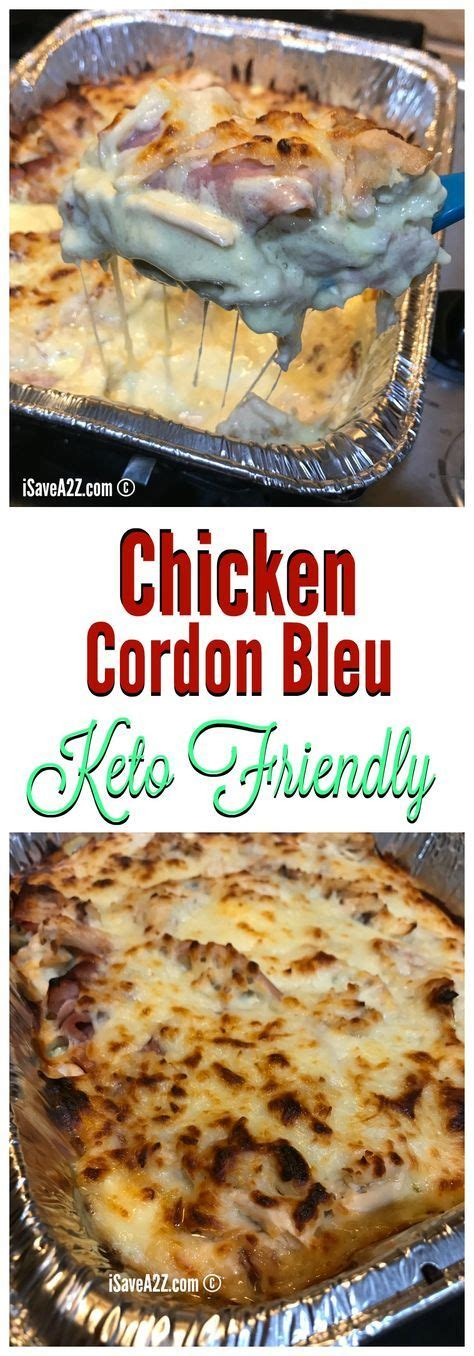 keto cordon bleu chicken casserole recipe recipes friendly isavea2z comida recetas faciles carb low dinner collect later baked diet easy