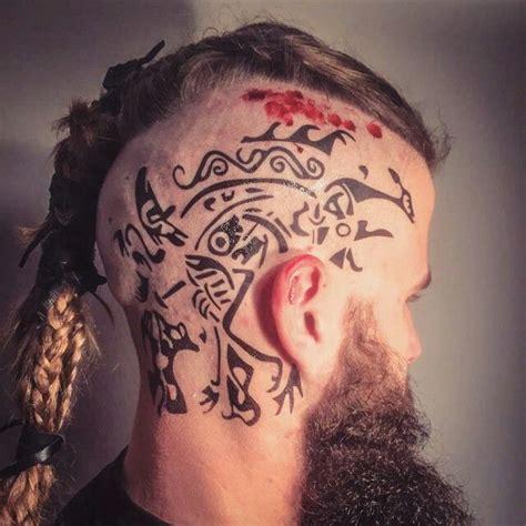 pin  sam white  vikings wikinger tattoo wikinger