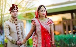 Wedding Portraits of Disha Ashwini Gulmohar greens