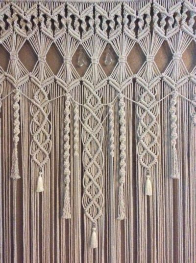 Free Drapery Patterns by 9 Diy Patterns For Macram 233 Curtains Inhabit Zone