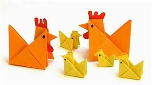 Papier falten - Origami Anleitungen - YouTube