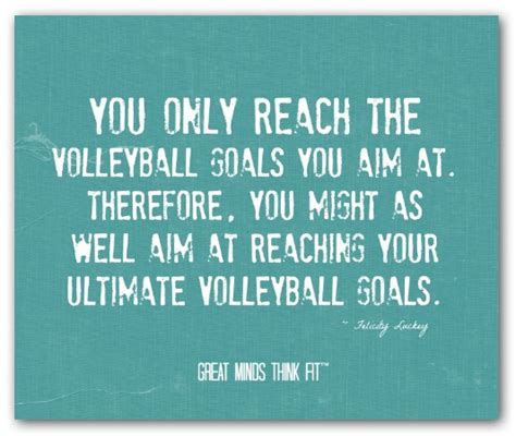 good volleyball team quotes