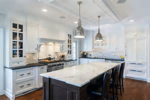 marble top kitchen islands granite or marble kitchen island countertops