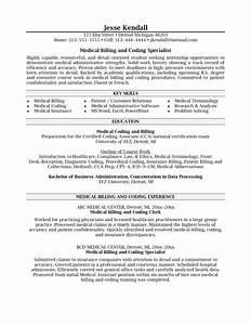 medical billing and coding resume 3 medical billing coding With sample resume for medical billing and coding student
