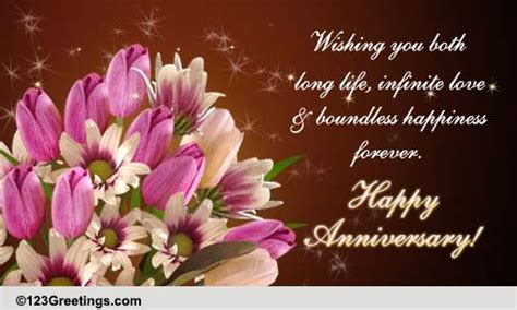 anniversary family wishes cards  anniversary family wishes