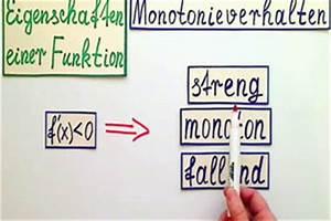 Nullstellen Berechnen Ausklammern : video monotonie berechnen so untersuchen sie eigenschaften einer funktion ~ Themetempest.com Abrechnung