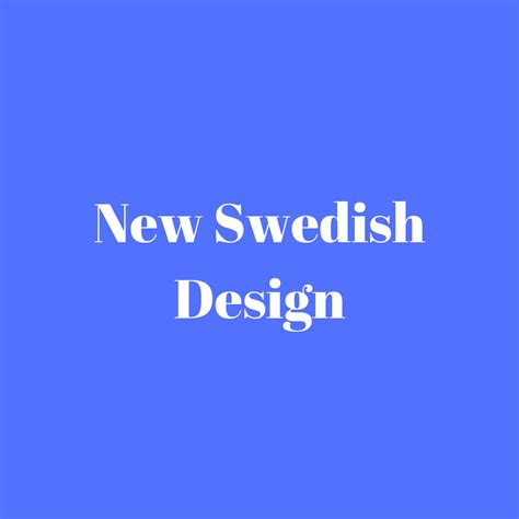 new swedish design wohn