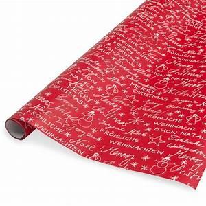 Papier Cadeau Blanc : papier cadeau rouge blanc 2m joyeux no l maisons du monde ~ Teatrodelosmanantiales.com Idées de Décoration