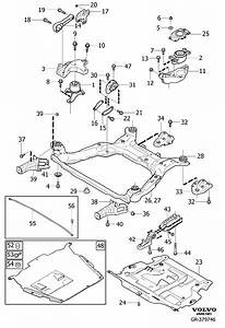 2013 Volvo Engine Mount  Mountings  Lower