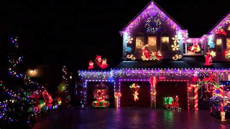 beautiful christmas light setup in mississauga youtube