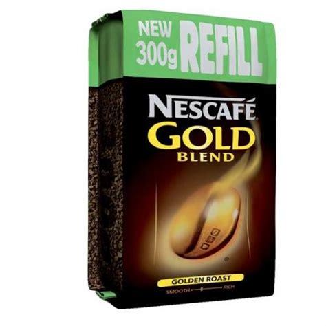 Nescafe gold caramel latte coffee 8 sachet x 6 box = 48 bulk pack deal. Nescafe (300g) Gold Blend Vending Instant Coffee Refill Pack 1216