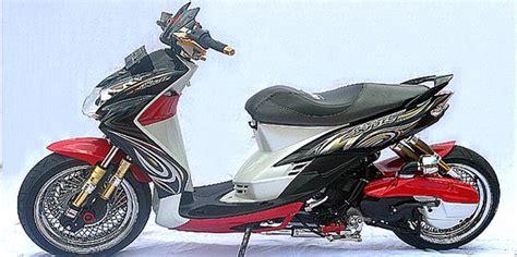 Modifikasi Mio Soul 2010 by Auto Njing Modifikasi Yamaha Mio Soul Boros Sokbreker