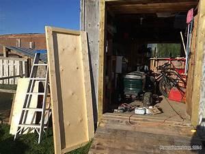 Cabanon En Bois : abri de jardin installer une porte pour abri de jardin ~ Premium-room.com Idées de Décoration