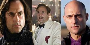 The many hairstyles of Mark Strong - Film And TV, Mark ...