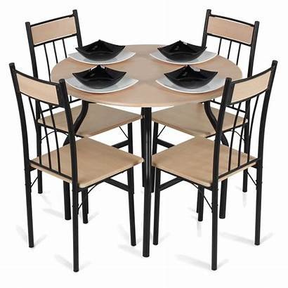 Table Dining Chairs Transparent Clipart Background Icons