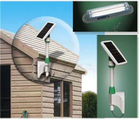 eco friendly solar shed light ecofriend