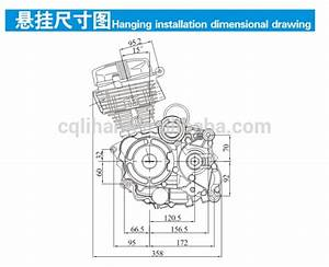 4 Stroke 200cc Zongshen Tricycle Engine Zs 163fml Engine