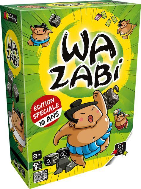 wazabi 10 ans jeu de soci 233 t 233 d ambiance gigamic
