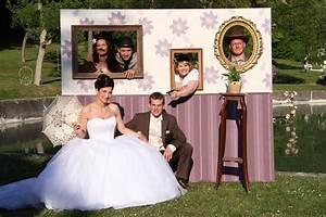 Decor Photobooth Mariage : le photobooth l animation d lirante d un mariage wedevent ~ Melissatoandfro.com Idées de Décoration