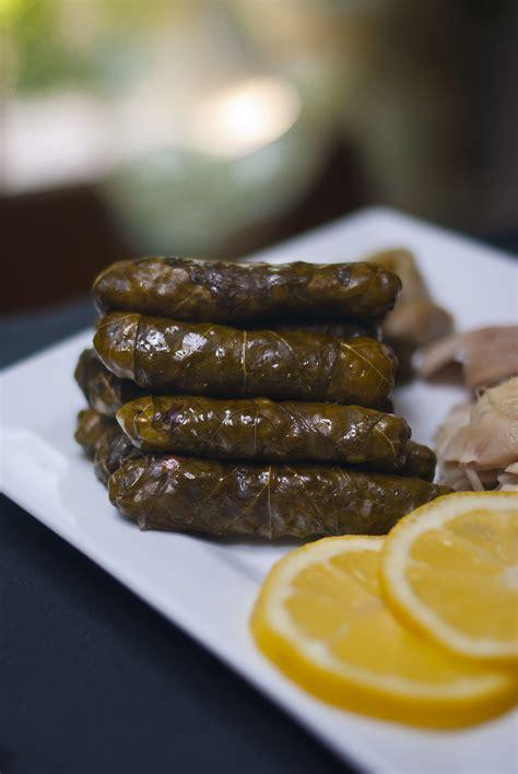 cuisine syrienne yabraq feuilles de vigne farcies alep cuisine