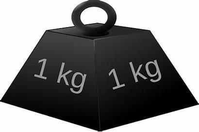 Weight Clipart Kilogram Kg 1kg Mass Clip