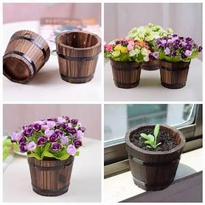 Popular Wooden Flower Pot-Buy Cheap Wooden Flower Pot lots