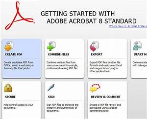adobe acrobat 8 standard features With adobe acrobat standard free