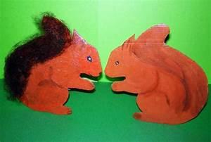 Eichhörnchen Aus Holz : eichh rnchen basteln mit holz oder pappe ~ Orissabook.com Haus und Dekorationen