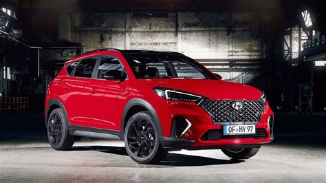 Hyundai Lines by Hyundai Tucson N Line Revealed With Racy Accents