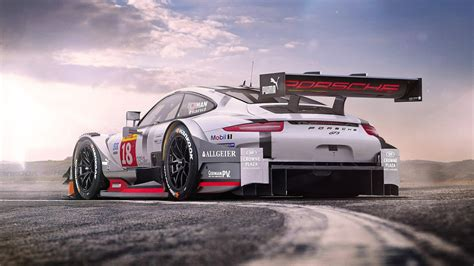 Porsche 911 Gt3 Race Car Wallpaper