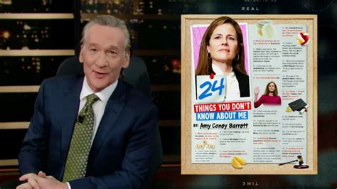 bill maher savages supreme court justice amy coney barrett
