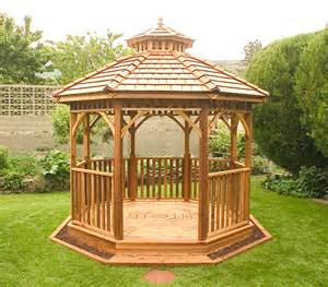 Garden Finials by Outdoor Living Today Octagon Gazebo Kit Bayside10 On Sale