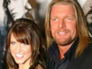 Triple H and his Wife - YouTube