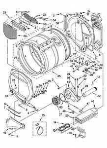 Kitchenaid Kehs02rmt1 Dryer Parts