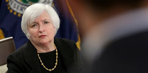 yellen denied  term  fed chair announces