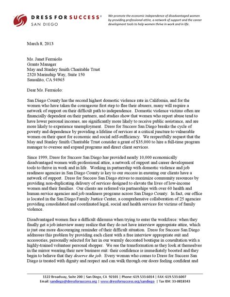 sample grant loi letter  intent  derek floyd ma