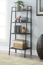 Metal Leaning Bookcase by Metal Bookshelf Bookcases Ebay