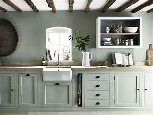 Kuche in zartem mintgrun und grun wohnkonfetti for Küche mintgrün