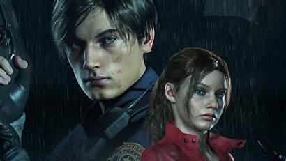 Resident Evil 4k Claire Redfield Leon Kennedy