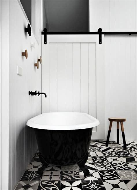Black And White Bathrooms; Design Ideas