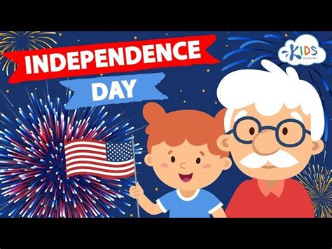 4th Of July For Kids - Independence Day   Story with ...