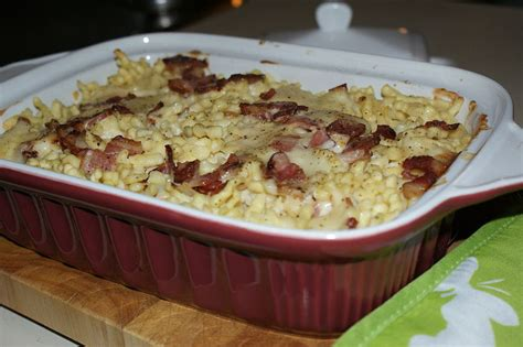 gratin de pates et lardons gratin de fromage suisse et p 226 tes au lardons la cuisine d