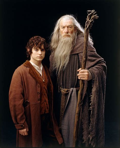 Frodon Et Gandalf  Blog De Dard12