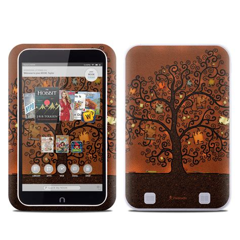 barnes and noble order status barnes and noble nook hd tablet skin tree of books by