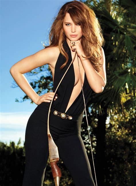 Jennifer Lawrence Glamour Magazine April 2012