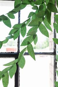 Diy, Paper, Leaf, Garland