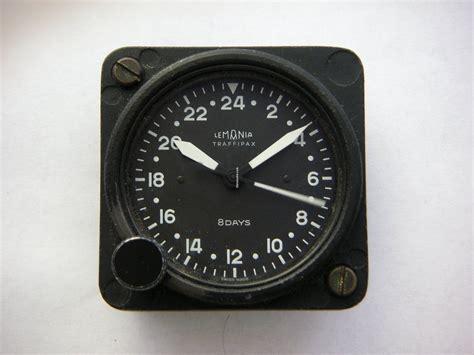 Lemania Rare Aircraft Traffipax 8 Days Clock Sold On Chrono24
